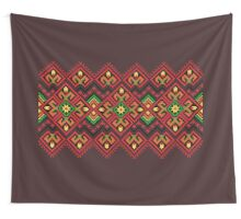 Candle Knitting Pattern Wall Tapestry