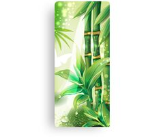 Bamboo Plants Canvas Print