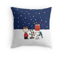 A Charlie Brown Christmas Throw Pillow