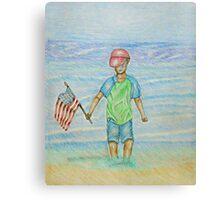 Labor day Canvas Print