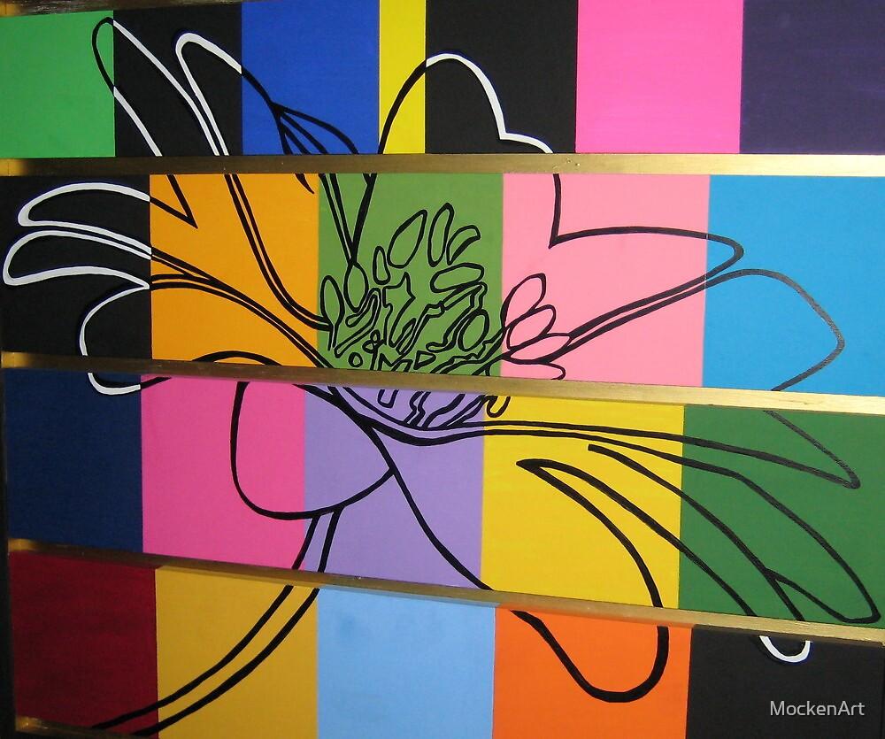 Rockin' Daffodil Dresser by MockenArt