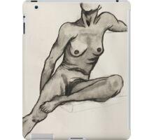 Woman in Seat - Figure iPad Case/Skin