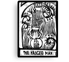 The Hanged Man - Tarot Cards - Major Arcana Canvas Print