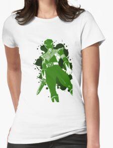 Green Ranger Womens Fitted T-Shirt