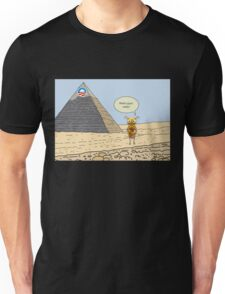 Obama and the Ant at the Pyramids 2012 Unisex T-Shirt