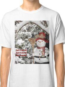 Let It Snow Let It Snow Let It Snow Classic T-Shirt
