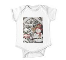 Let It Snow Let It Snow Let It Snow One Piece - Short Sleeve