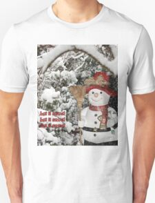 Let It Snow Let It Snow Let It Snow T-Shirt