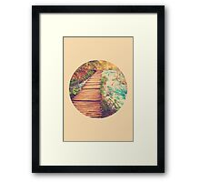 Sojourn Through Serenity - Circle Print Framed Print
