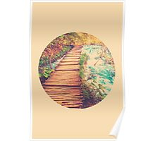 Sojourn Through Serenity - Circle Print Poster