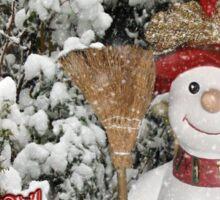 Let It Snow Let It Snow Let It Snow Sticker