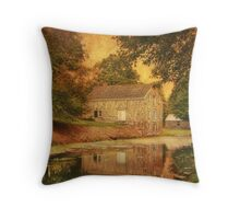 Smith's Store At Waterloo Village Throw Pillow