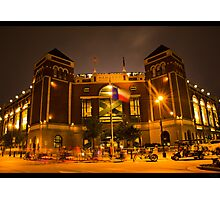 The Rangers Ballpark Entrance at Arlington, Texas.  Photographic Print