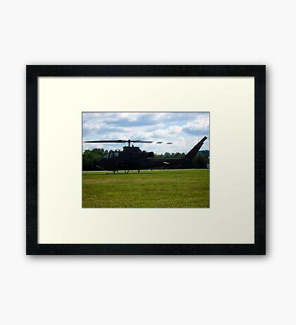 catch a chopper Framed Print