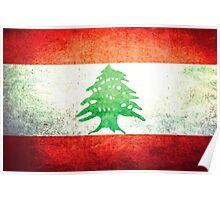 Lebanon - Vintage Poster