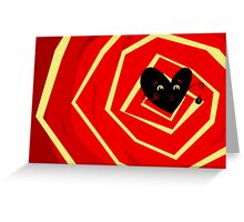 You are Falling in Love... Greeting Card