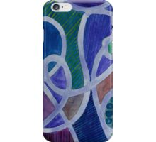 Curved Paths iPhone Case/Skin