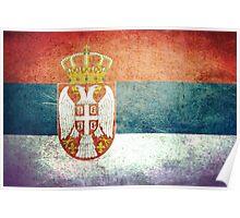 Serbia - Vintage Poster