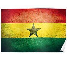 Ghana - Vintage Poster