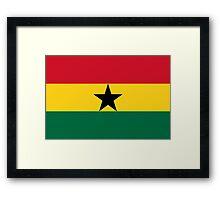 Ghana - Standard Framed Print