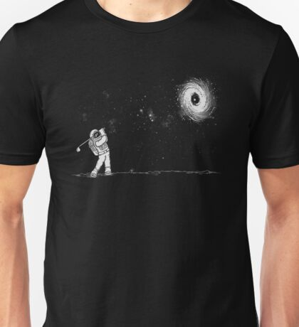 Black Hole In One Unisex T-Shirt