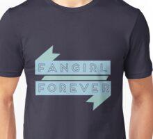 Fangirl Forever Blue Unisex T-Shirt