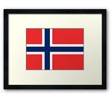 Norway - Standard Framed Print