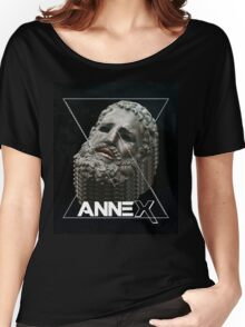 ANNEX - Boxer of the Quirinal - AESTHETIC (FRICTION EDIT) Women's Relaxed Fit T-Shirt