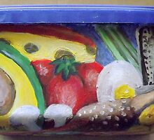 Hubby's Lunchbox (Other side) by Penny Hetherington