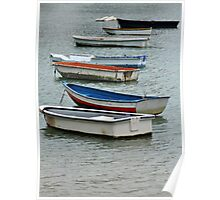 Row,row,row of boats Poster