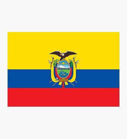 Ecuador - Standard Photographic Print