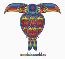Mayan Tucan by Mandala's World
