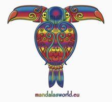 Mayan Tucan by Mandala's World
