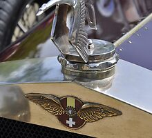 Hispano Suiza H6C Transformable hood ornament (1929) by Frits Klijn (klijnfoto.nl)