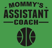 Mommy's Assistant Basketball Coach One Piece - Short Sleeve