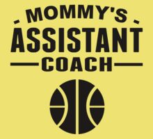 Mommy's Assistant Basketball Coach Kids Tee
