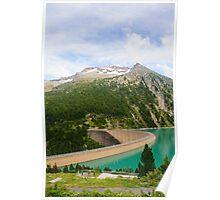 Austria, Zillertal High Alpine nature Park landscape Poster