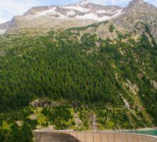 Austria, Zillertal High Alpine nature Park landscape Sticker