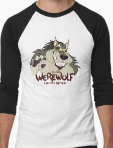You Say Werewolf Like It's a Bad Thing, Ver. 2.0 (Light Colors) Men's Baseball ¾ T-Shirt