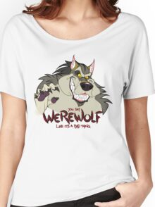 You Say Werewolf Like It's a Bad Thing, Ver. 2.0 (Light Colors) Women's Relaxed Fit T-Shirt