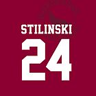 "Teen Wolf - ""STILINKSI 24"" Lacrosse by kinxx"