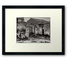Masseria Framed Print