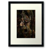 The Shouting Man Framed Print