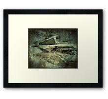 River Graveyard Framed Print
