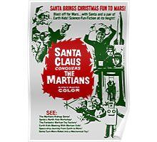 Santa v Mars Poster