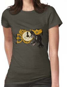 Clockwork Madness Womens Fitted T-Shirt