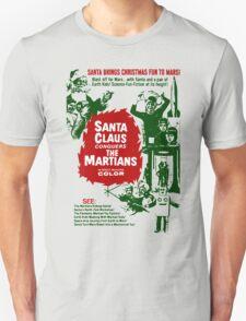 Santa v Mars T-Shirt