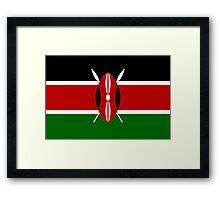 Kenya - Standard Framed Print
