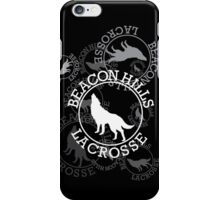 Beacon Hills Lacrosse Team Logo - V1 iPhone Case/Skin