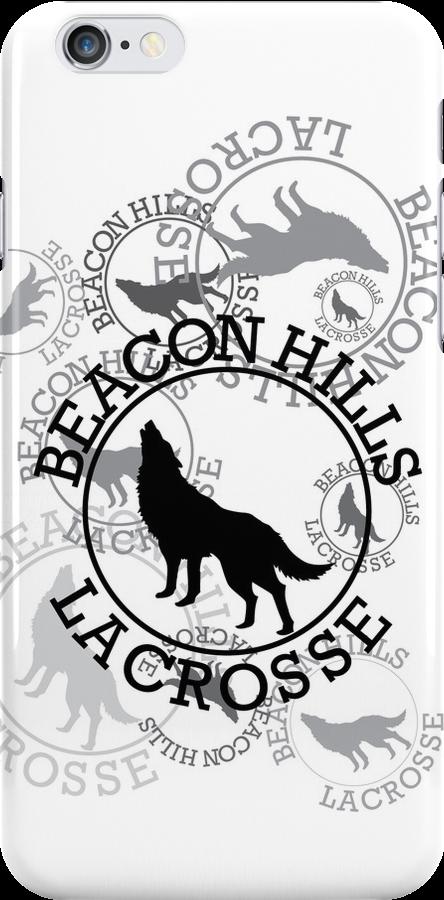 Beacon Hills Lacrosse Team Logo - V2 by kinxx